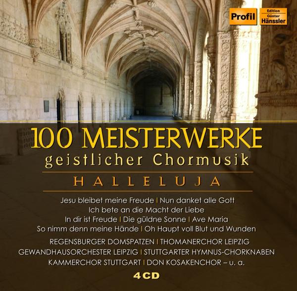 100 Meisterwerke geistl.Chorm. Various