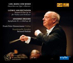 Oberon-Ouvertüre/Violinkonzert op.61/Sinfonie 1