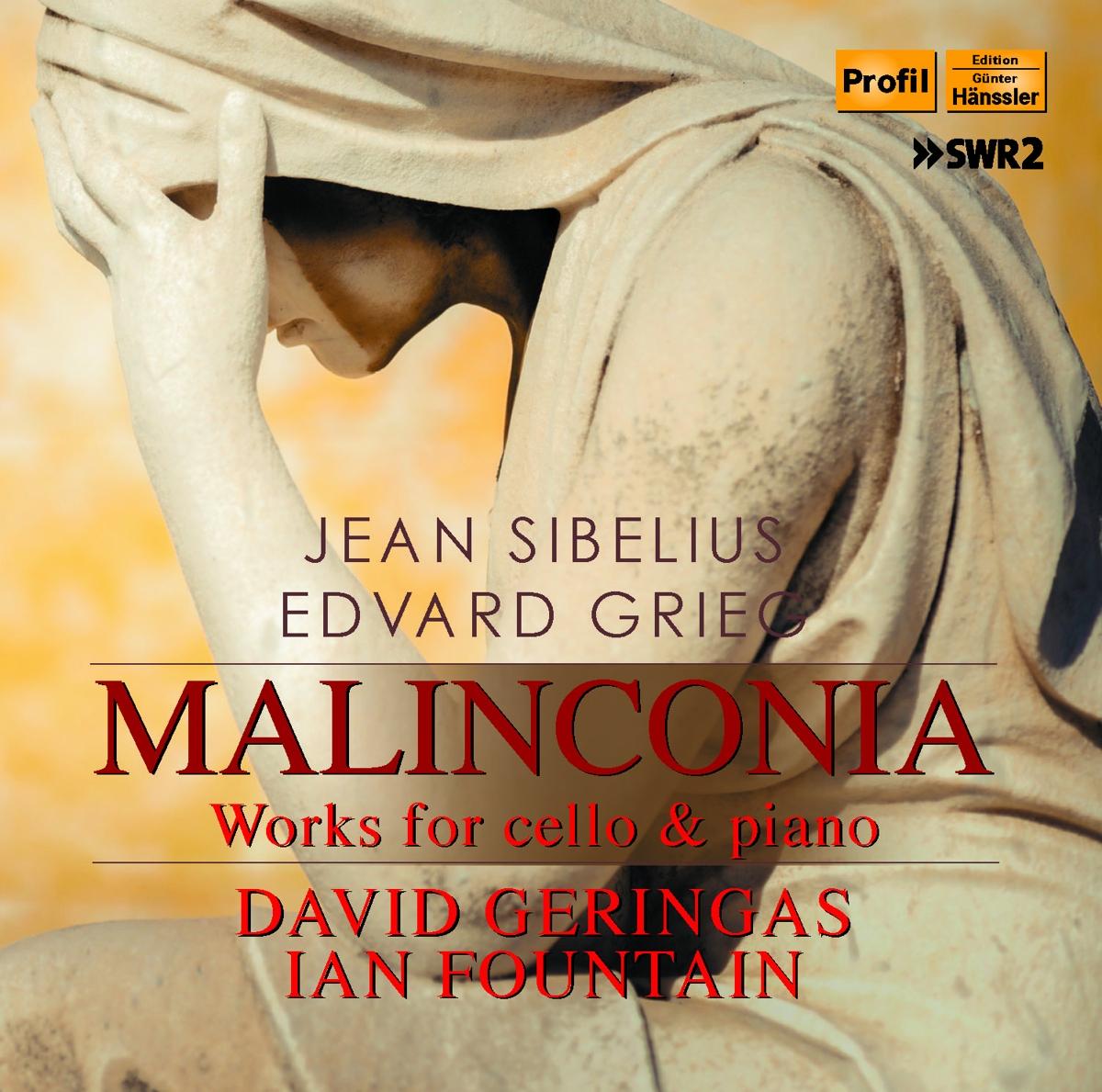 Malinconia: Werke für Cello und Klavier