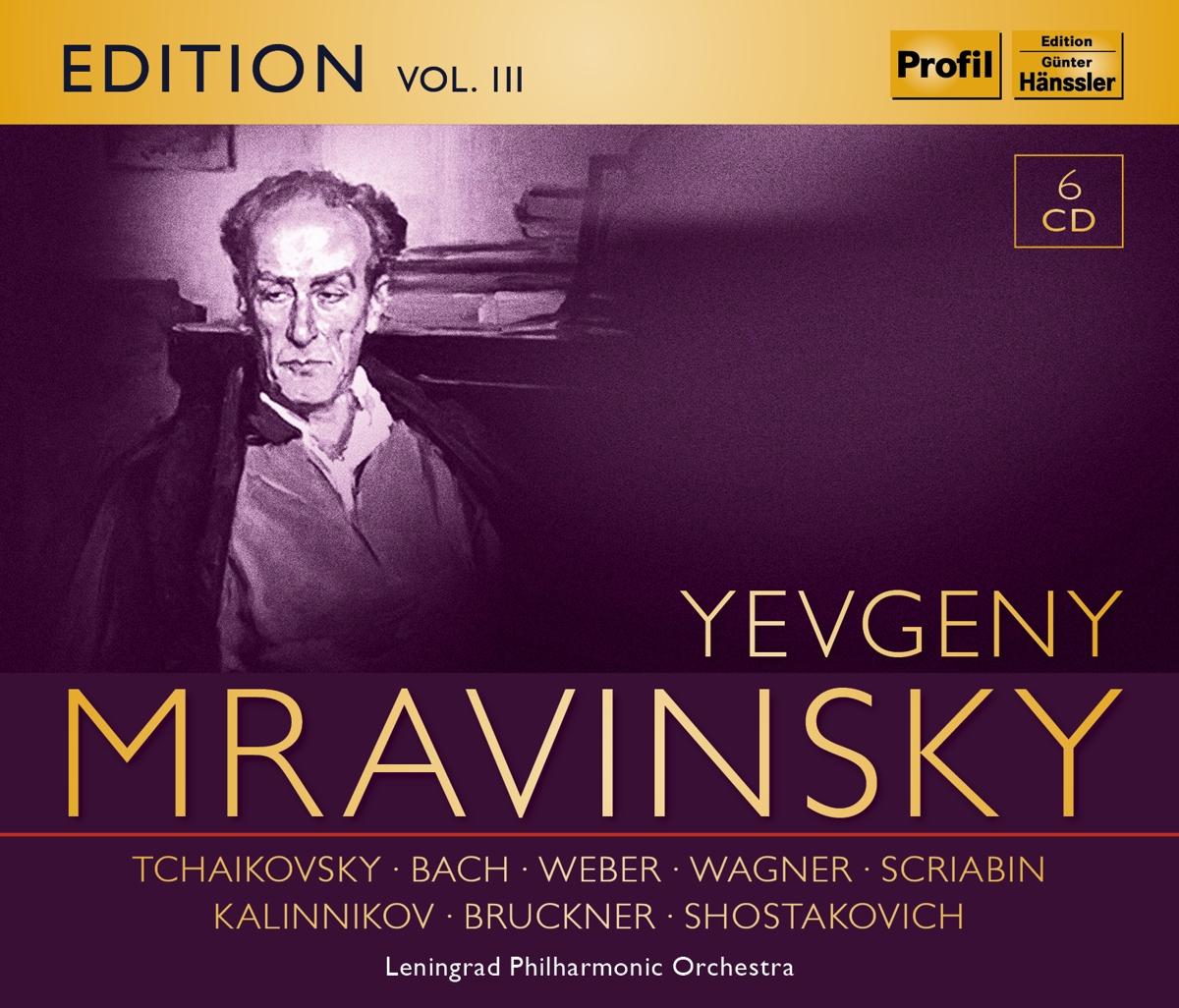 Evgeny Mravinsky Edition Vol.3