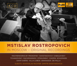 Mstislav Rostropovich In Moscow-Original Rec.