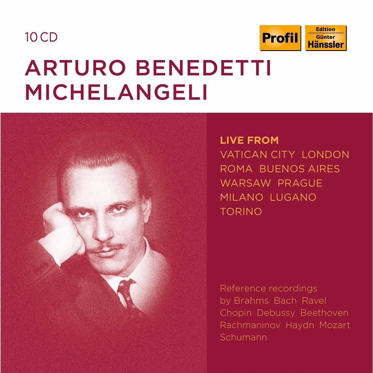 Arturo Benedetti Michelangeli-Live