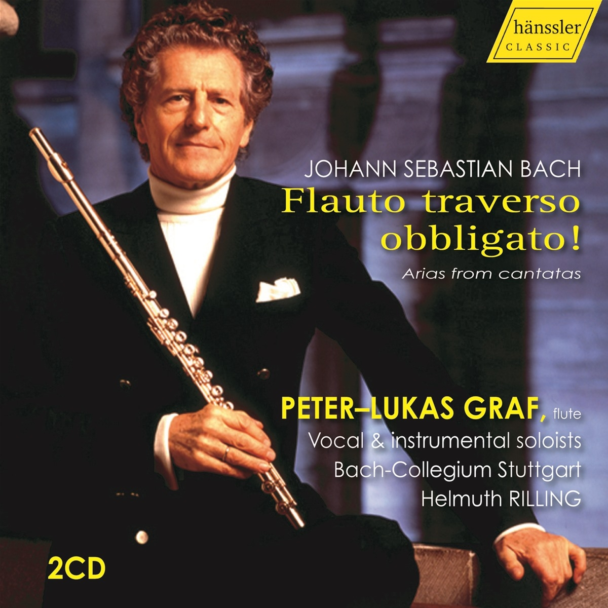 Bach Flauto traverso obbligato! Arias from cantata
