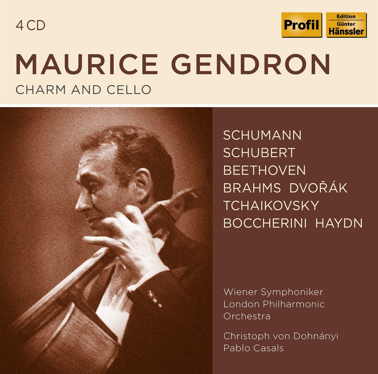 Maurice Gendron-Charm and Cello