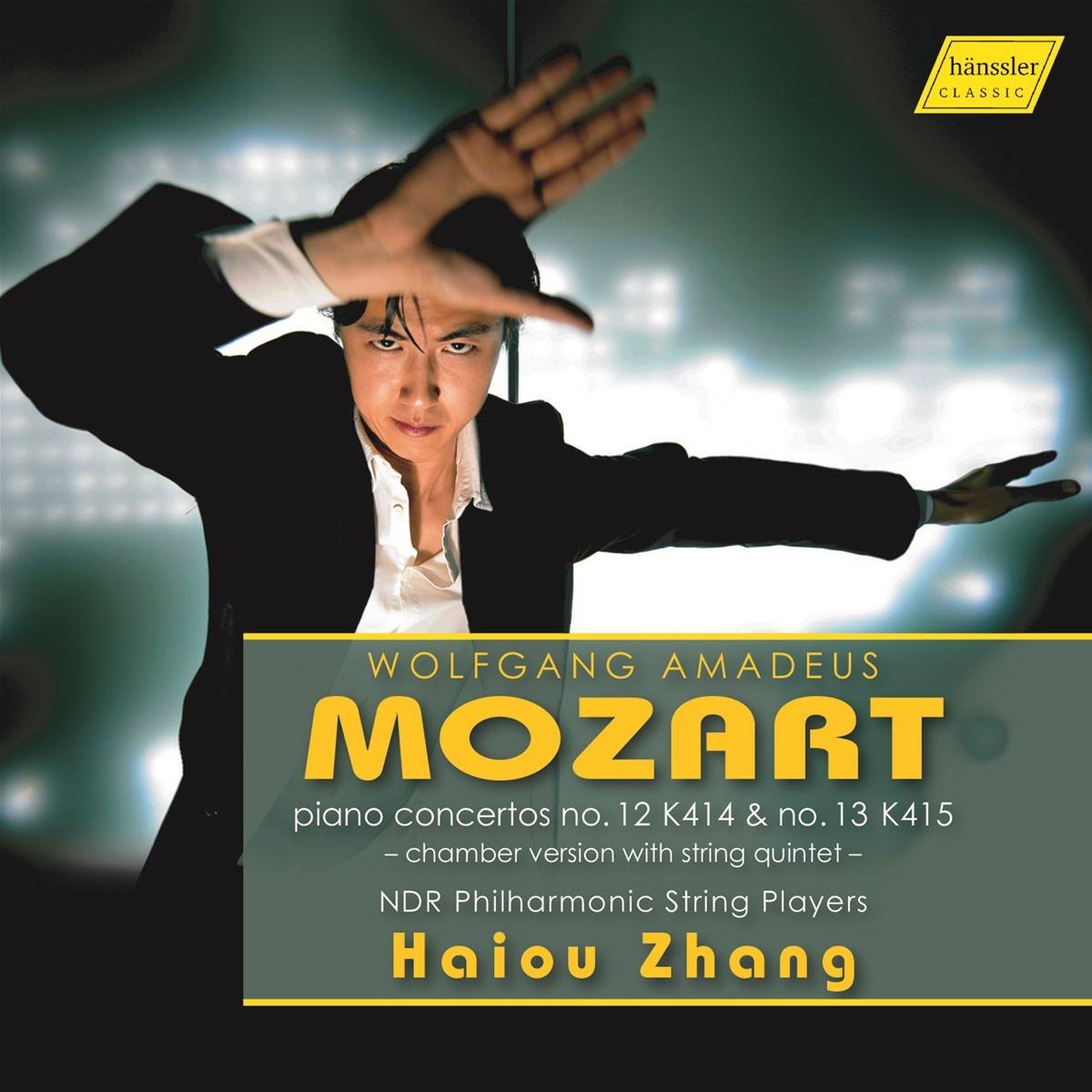 Zhang Plays Mozart