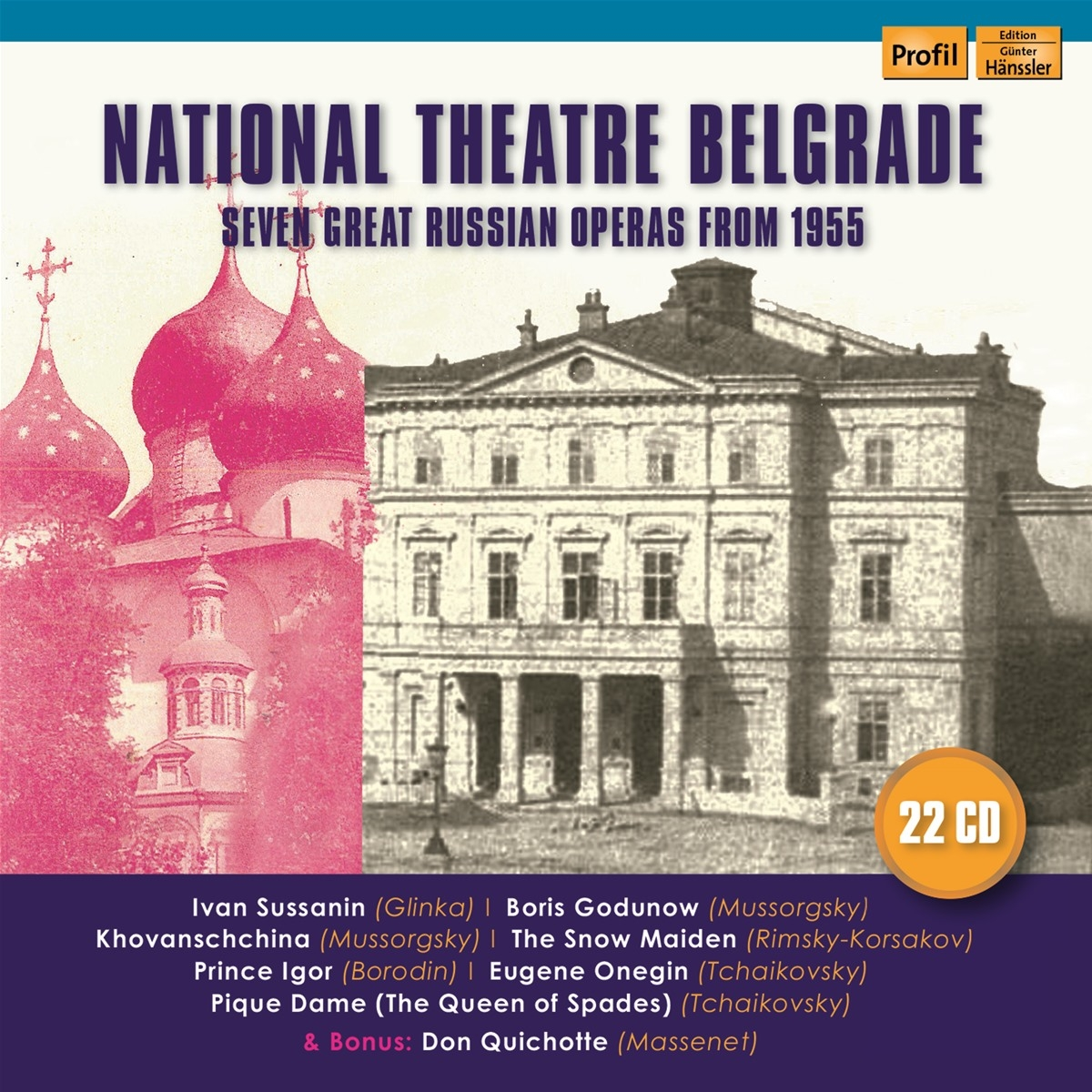 Seven great Russian Operas from 1955 - National Th