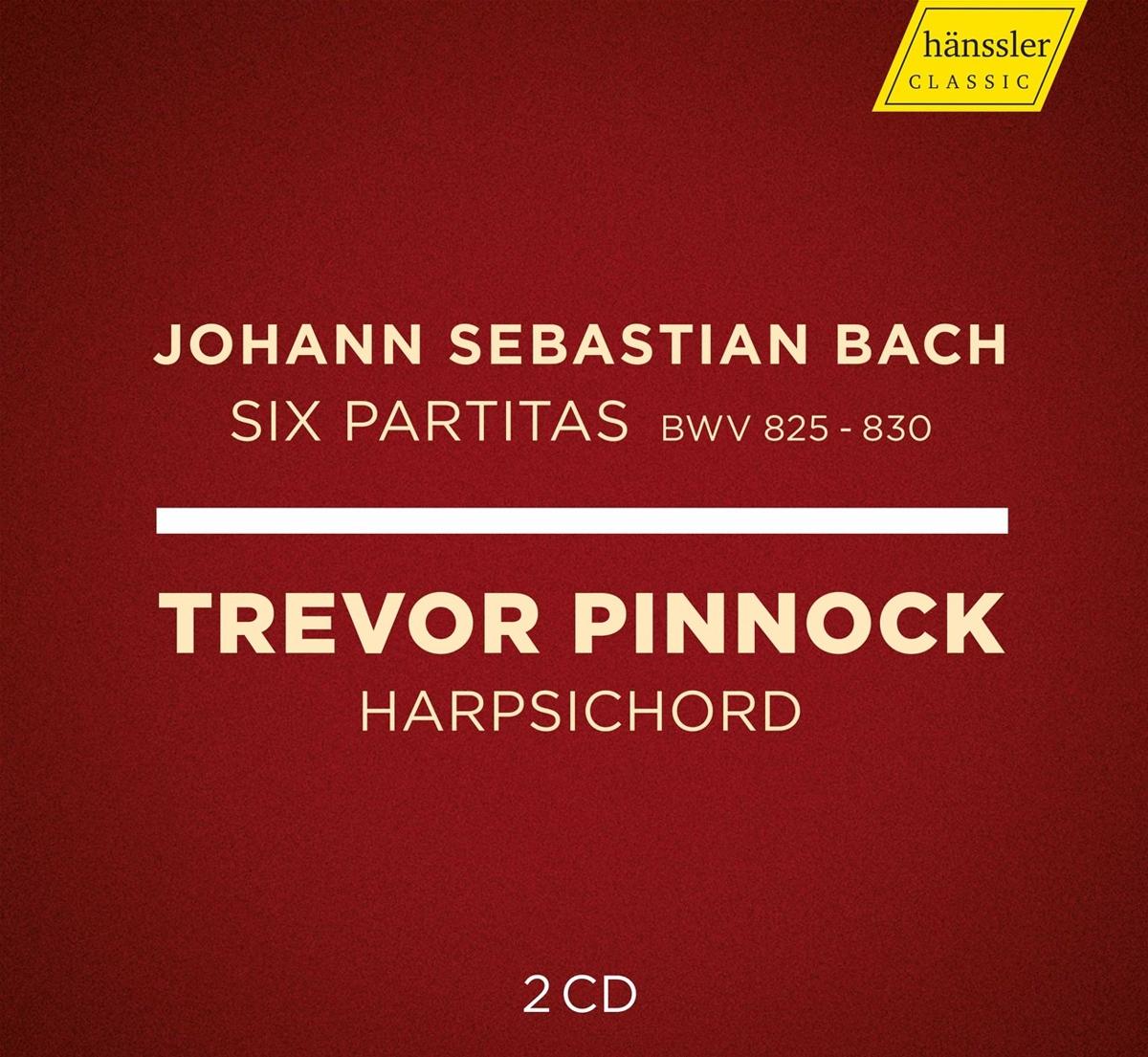 Pinnock - Six Partitas BWV 825-830 - Clavier Übung