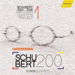 Schubert 2020-2028-The String Quartets Project 1