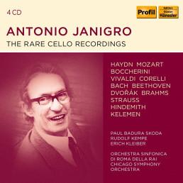 Janigro - the rare cello recordings