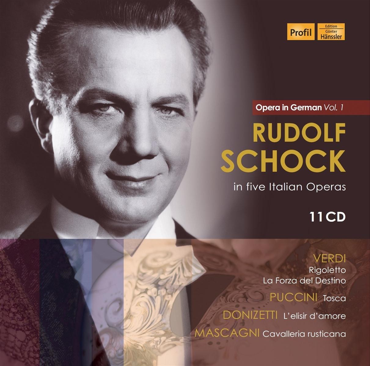 Rudolf Schock in five Italian Operas - Opera in Ge