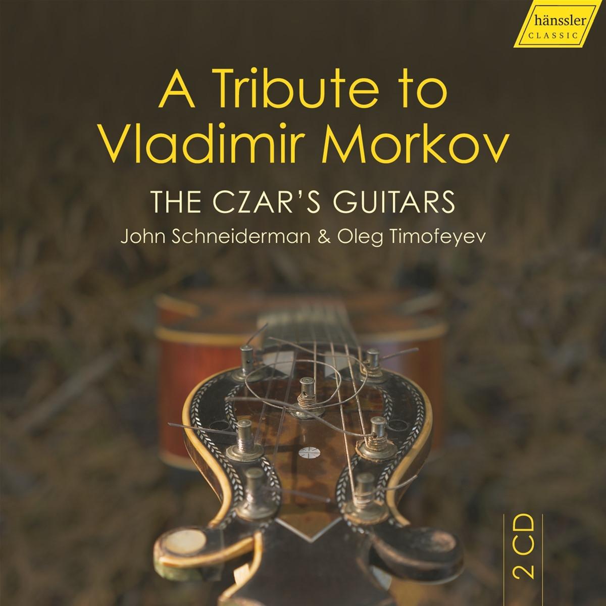 The Czar's Guitars-A Tribute to Vladimir Morkov