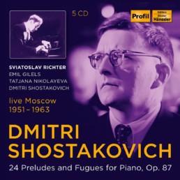 Dmitri Shostakovich 24 Preludes & Fugues for Piano