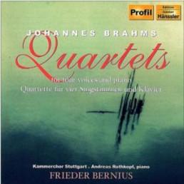 Quartette Für 4 Singstimmen Und Klavier