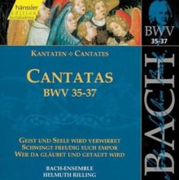 Kantaten BWV 35-37