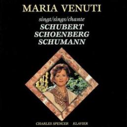 Maria Venuti sings Schubert