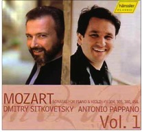 Mozart Sonatas for Piano &Violin KV 304