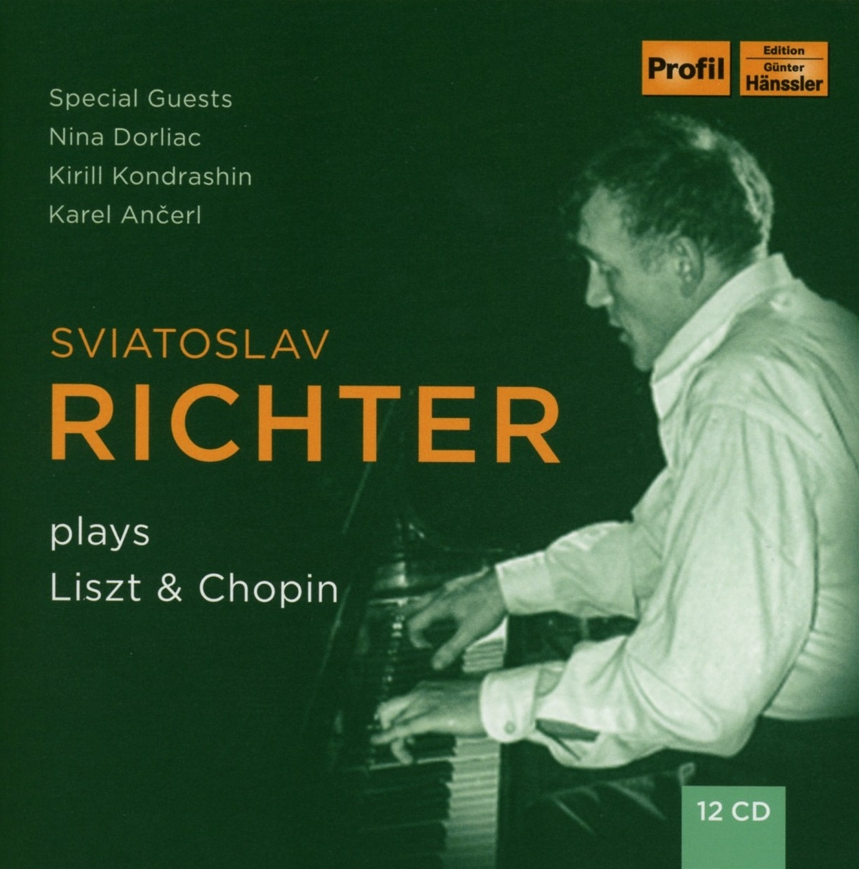 Richter plays Liszt and Chopin
