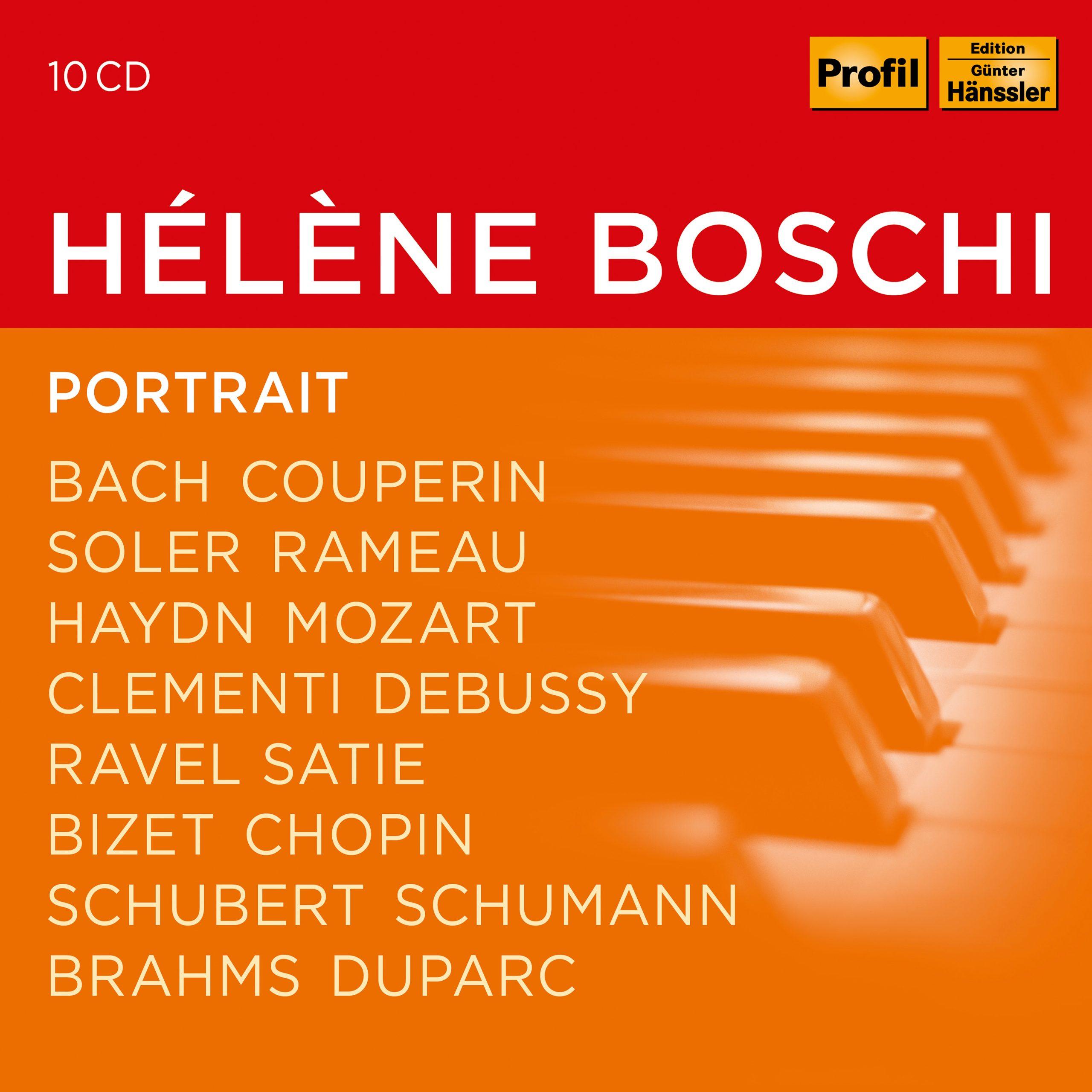 HELENE BOSCHI: Portrait Boschi,Helene/+