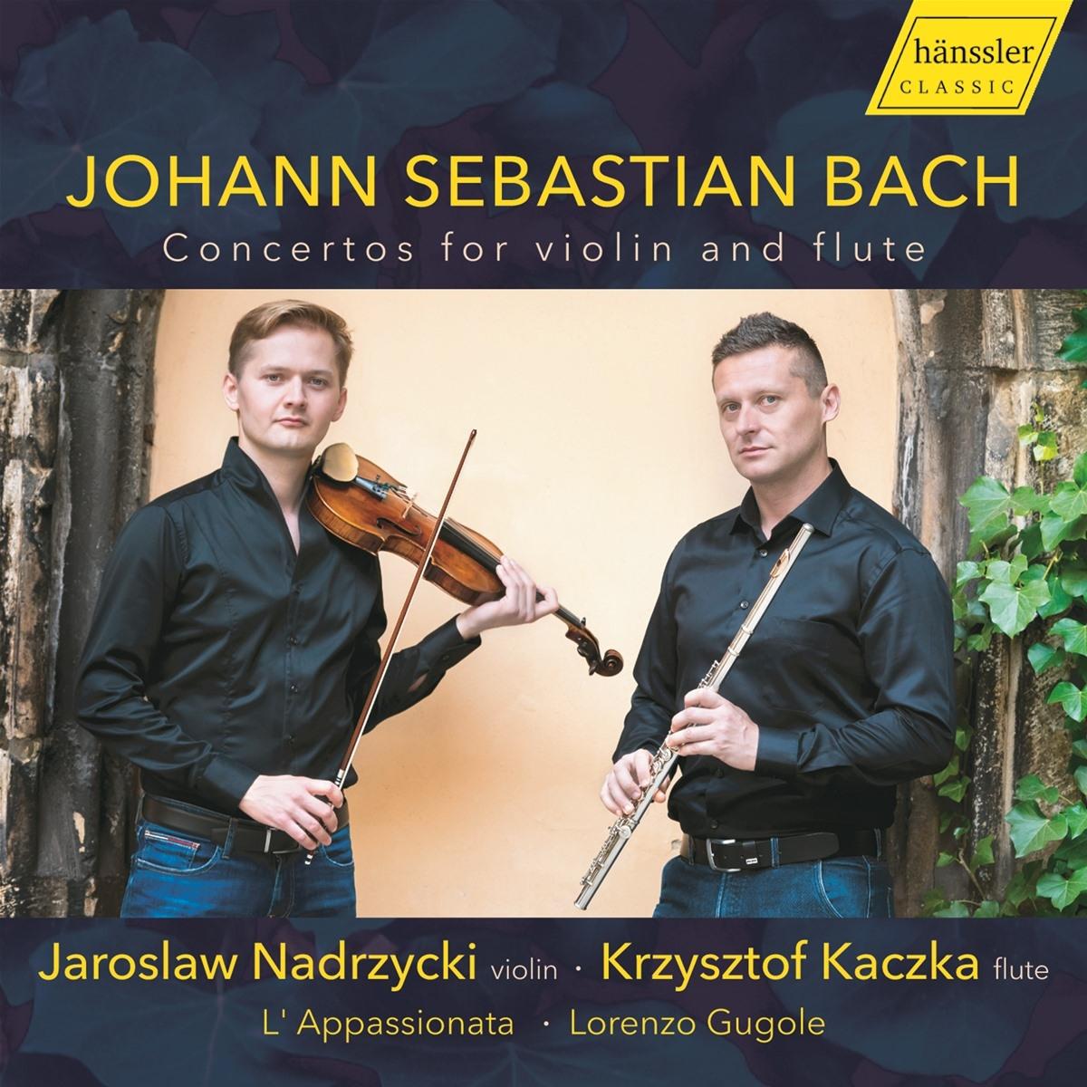 Krysztof Kaczka plays  Bach Concerto a minor