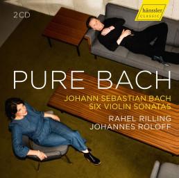 Pure Bach-6 Sonatas for Violin & Piano