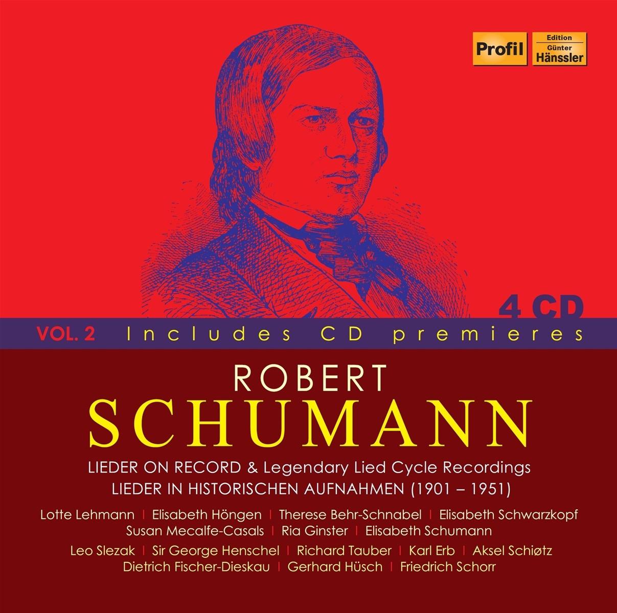 Robert Schumann Vol.2-Legendary Lied Cycle