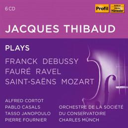 Jaqcques Thibaud plays Franck