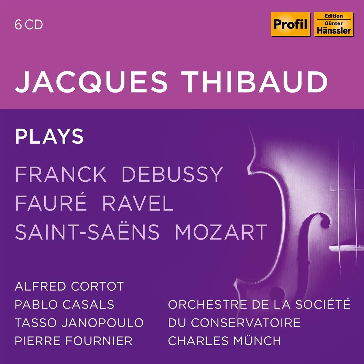 JACQUES THIBAUD Thibaud,Jacques